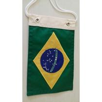 Bandeira Bordada Brasil Para Moto Acessórios