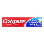 Creme Dental Colgate Máxima Proteção Anticáries 180g Pasta