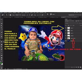 500 Plantillas Photoshop Editables Fotomontajes Infantiles