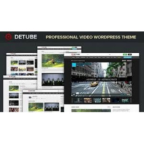 Tema Wordpress- Detube (especializado Para Videos)