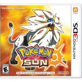 Jogo Pokemon Sun Nintendo 3ds New 3ds Xl Lacrado