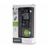 Gravador De Voz Digital Sony Icd-px240 4gb Até 1043h Em Mp3