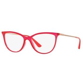 Armação Oculos Grau Vogue Vo5239 2675 54 Vermelho Translucid 9c3c1bc19c