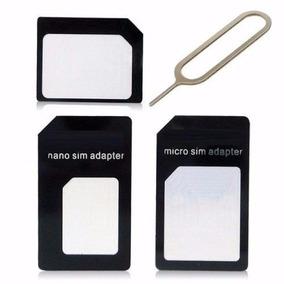 Adaptador 3 Em 1 Nano Chip Mini Micro Sim Card