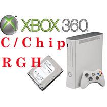 Xbox 360 De 500gb Ciber Casa 2 Controles + Fuente+cable Hdmi