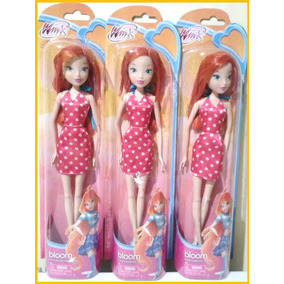 Muñeca Bloom Winx Club Juguete Tipo Barbie Economica Regalo