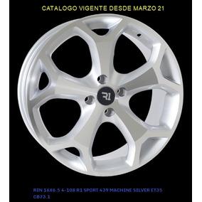 4 Rines R16 R1 Sport Deportivos Nuevos 4/108 Ford Peugeot