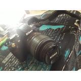 Cámara Reflex Nikon D3100 Completa Con 11mil Disparos