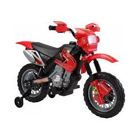 Moto Elétrica Infantil Vermelha !