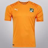 Camisa Costa Do Marfim - Seleção - Puma - Home 2014 S/nº