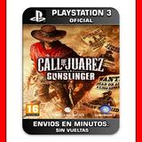 Call Of Juarez Ps3 Gunslinger Elegi Reputacion Al Comprar