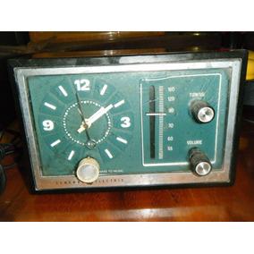 Viejo Reloj, Radio Y Despertador General Electric 70s