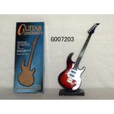 Mini Instrumentos Musicais, Guitarra , Caixa De Musica