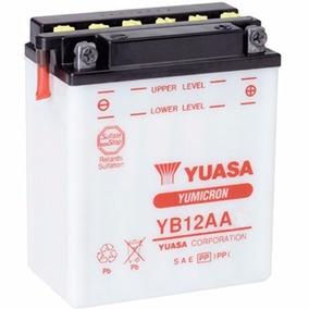 Bateria Yuasa Yb12a-a Para Cb400, Cb450, Virago535, Cbr450sr