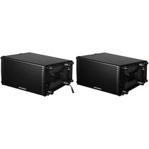 Kit Line Array Ativa + Passiva 8 Pol Attack Vrd 108a+vrd 108