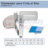 Ribeteador A4 Para Colocar Cinta Al Bies 18mm Recta Ind.