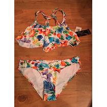Lindo Traje De Baño Bikini Rampage Olanes 100% Original!!