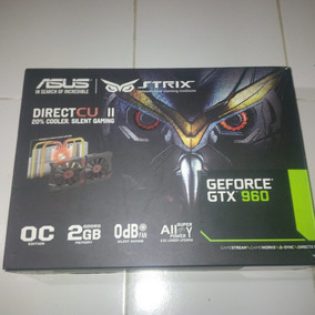Tarjeta De Video Asus Ddr5 2gb Geforce Gtx 960