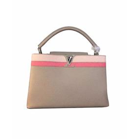 Bolsa Louis Vuitton Capucine Couro Legítimo Feminina
