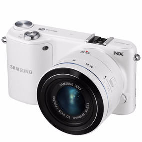 Camera Digital Samsung Nx2000 20.3mp Branco   Novo
