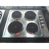Tope De Cocina Frigilux Electrico 60cm Acero Inox. 220v 4h