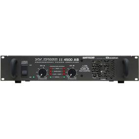 Amplificador De Potencia Ciclotron W Power Ii 4500 Ab