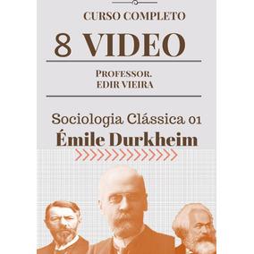 Curso Videoaulas/ Sociologia Clássica 1 - Émile Durkheim