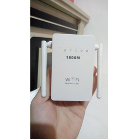 Repetidor Roteador 1800mbps 2 Antenas Wireless Wifi