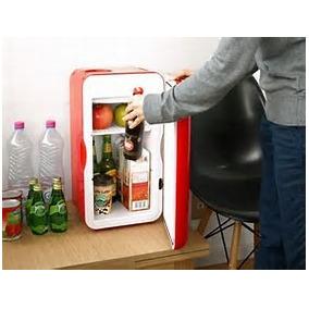 Frigobar-mini Refrigerador-casa-auto 12v Termoelectrico-15l