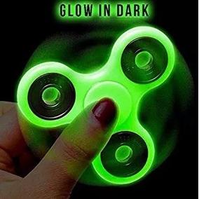 Fidget Spinner Fluorecente Brilla En Oscuridad Tiend