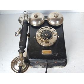 Antiguo Telefono De Pared - Ericsson Sueco - Impecable!!