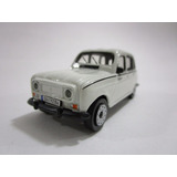 Renault 4 R4 R-4 Metalico Escala 9cm Largo