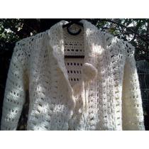 Tapado De Niña Tejido Al Crochet T 6/7