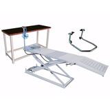 Oficina Compl. De Moto Rampa, Bancada E Cavalete - Tecnofusi