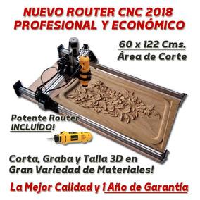 Router Cnc Armado 60x122 Cortador Madera Acrilico Aluminio