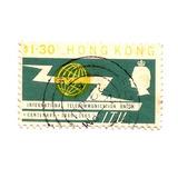 Estampilla De Hong Kong 1965 The 100th Anniversary I.t.u P