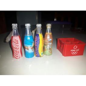 Mini Garrafas Mini Engradado Olimpíadas 04 Atenas Coca-cola
