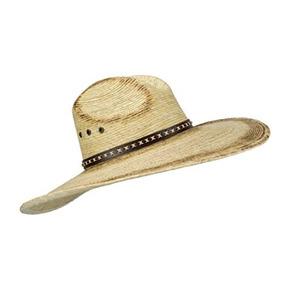 Sombrero De Vaquero De Hoja De Palma Mexicana Grande 7fd172057dd