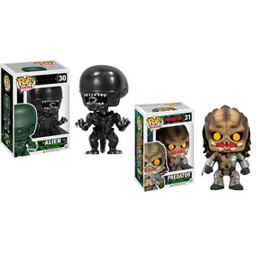 Funko Pop! Alien + Predador