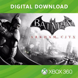 Batman Arkham City - Código Digital - Xbox 360