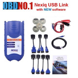 Escaner Nexiq Usb Link Diagnóstico De Camiones Tractores
