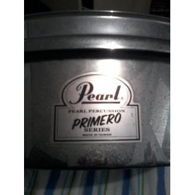Pearl Primero Steel Timbale Y Pearl Mfh12 16-inch Mesh Head