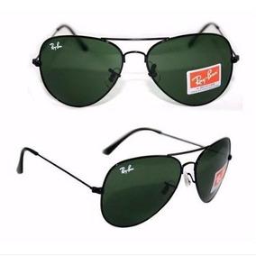 Oculos Rayban Aviador Lentes De Cristal Rb 3025 Rb 3026