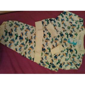 Combo 2 Pijamas Para Niño Penguin Talla 1 Y 2 (nuevo)