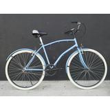 Bicicleta Fixe Sport Urbana 1 Vel Guardabarros Ruedas Anchas