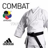 Karategui adidas Combat Talla 165 Uniforme Karate Kumite Wkf