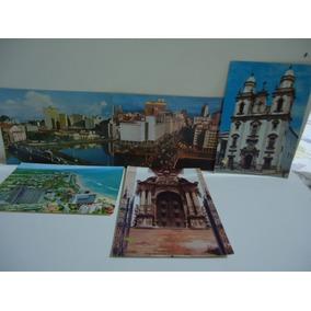 Lote - Recife (pernambuco) 5 Cartões Postais