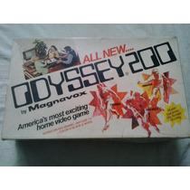 Console Odyssey 200 - Jogos Odyssey - Games Antigos