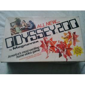 Console Odyssey 200 - Jogo Odyssey - Video Game Odyssey