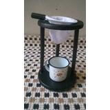 Mancebo P/ Coar Café+caneca+coador De Pano 100% Algodão M